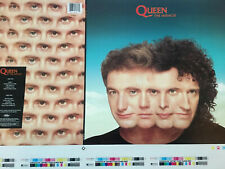 Queen The Miracle 1989 Pre-Production Album Slick Rare Poster