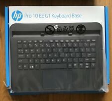 HP Pro 10 EE G1 Black Keyboard Base Pro Slate / Pro Tablet QWERTY USA  NEW