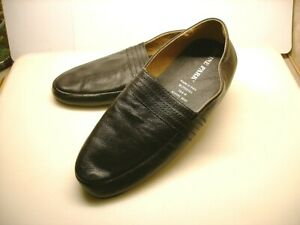 Irvine Park Mens Brown Leather Slippers* Size 10.5W