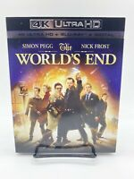 The World's End (2013) [4k UHD + Blu-ray + Digital] w/ Slipcover