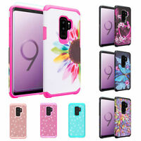For Samsung Galaxy S9 Case, SM-G960 Slim Hybrid Dual Layer Shockproof Cover