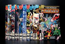 COMICS: DC: Crisis On Infinite Earths #1-12 (1985), 1st Anti-Monitor app - RARE