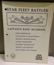 Star Fleet Battles Captain's Basic Rule Book - Task Force Games