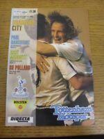 30/10/1990 Tottenham Hotspur v Bradford City [Football League Cup] . Thanks for