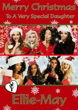 personalised Christmas card Little Mix Any name/relation
