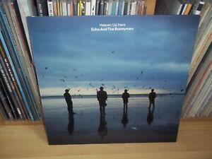 ECHO AND THE BUNNYMEN Heaven up here GERMAN 1981 KOROVA KODE 3 Indie LP w/INNER