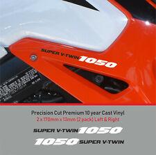 1050 Super V-Twin Decal Sticker premium 10 year Vinyl FIT Suzuki V-Strom NON OEM