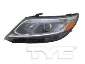 TYC Left Side Halogen Headlight Assembly For Kia Sorento LX 2014-2015 Models