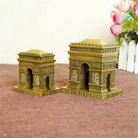 Vintage Alloy Triumphal Arch Model Decor Home Ornament Figurine Statue Crafts