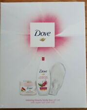 Dove Relaxing Beauty Body Duo Gift Set With Supersoft Bath Mitt