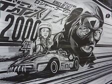 DEATH RACE 2000 YOU WANT TO MAKE LOVE BY KAKO LE 50 NOT MONDO PRINT SOLD OUT