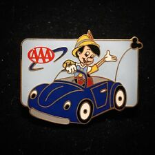 OLD Pinocchio Blue Beetle Car AAA Travel Company Disneyland DLR Disney Pin 18372