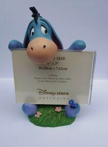 Disney Winnie The Pooh Eeyore Resin Photo Frame Disney store Exclusive