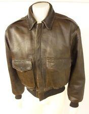 Avirex Vintage Old Leather Bomber/Flight Medium Series 1943 Type A-2 Jacket