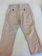Girls 3 Years NEXT pink trousers in the style of jeans 👖