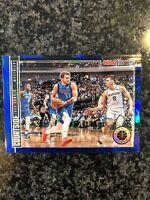 2019-20 Luka Doncic NBA Hoops Premium Stock Courtside Blue Holo Dallas Mavericks