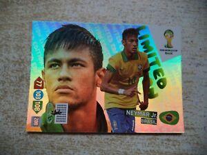 Panini Adrenalyn XL World Cup Neymar Jr. Limited Edition Brasil 2014