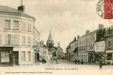 Carte BRETEUIL SUR ITON La Grande Rue