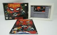 Spiderman (Super Nintendo SNES, 1995) Complete Fair