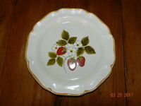 Vintage Mikasa Strawberry Festival Serving Platter - Never Used