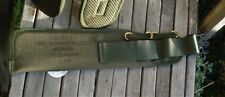 British Army Issue OG PLCE Bayonet Frog / Sheath webbing paintball TA bush-craft