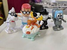 Rocky Bullwinkle Set of 5 Wind Up Figures Rocky Bullwinkle Boris Peabody Sherman