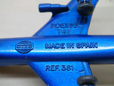 MIRA AEROPLANO BOING 747 AIR FRANCE  Ref 361  MADE IN SPAIN -11,2 x 9,3cm