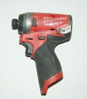"""Milwaukee 2553-20 M12 FUEL 1/4"""" Hex Impact Driver (Tool Only) USED U634"""