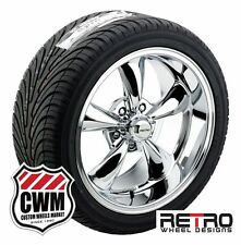 "17"" / 18"" inch Staggered Chrome Wheels Rims Tires for Chevy S10 / Blazer 2wd"