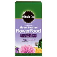 Miracle-Gro 146002 Water Soluble Bloom Booster Flower Food, 4 Lbs