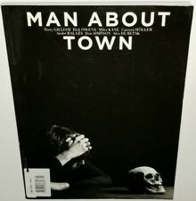 MAN ABOUT TOWN MAGAZINE FASHION 2009 HEDI SLIMANE ART PHOTO BOOK PRINT COUTURE
