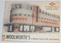 VTG 1952 WOOLWORTH SAN FRANCISCO STORE GUIDE! A MIRACLE MILE OF EXCITING VALUES!