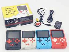 1x Retro Handheld Player Video Game Console 8 Bit 129 Games Built-in LCD Console