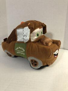 Original Disney Store Pixar Cars Tow Mater 13'' Plush