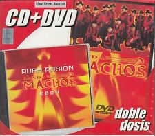 Banda Machos Pura Pasion CD+DVD New Nuevo Sealed