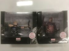 Marvel buste de collection Magnéto + Hawkeye Lot de 2 + fascicule neuf