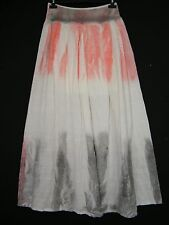 LAGENLOOK 100% COTTON PART LINED TIE/DYE LONG SKIRT IN 2 COLS ONESIZE FITS 14-20