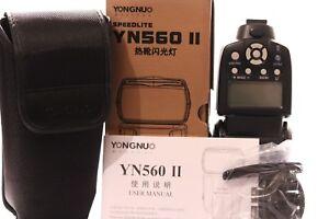 YONGNUO DIGITAL SPEEDLITE YN560 II FOR SONY SHOE FIT MOUNT
