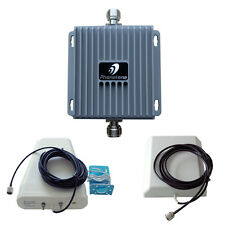 Cell Phone Signal Booster Repeater 850/1900MHz 65dB with High Gain Antennas