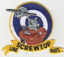 VAW-123 SCREWTOPS LINE RATS PATCH