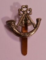 THE KINGS SHROPSHIRE LIGHT INFANTRY - BI-METAL CAP BADGE - BRITISH ARMY