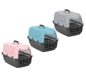 Pet Carrier Large Cat Dog Puppy Portable Transporter Cage Box Safe Travel Crate