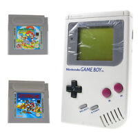 Nintendo Game Boy Classic + Mario Land 1 und 2 A Golden Coint TOP ZUSTAND
