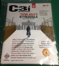 NEW, GMT C3i #18, Twilight Struggle cover, w/ Dragon's Jaw module for Downtown
