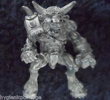 1989 Chaos Bloodbowl 2nd Edition Star Player Bellow Thunderslam Citadel Minotaur