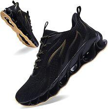 Mens Walking Jogging Tennis Shoes Fashion Breathable Non Slip Gym Sneakers