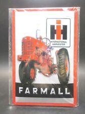 Traktor Farmall Trekker Blechschild Nostalgie Schild 30 cm