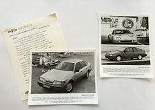 1987 Merkur Scorpio and XR4ti Original Car Product News Guide Brochure like