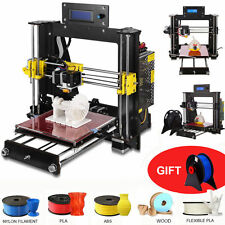 2017 Upgraded Full Quality High Precision Reprap Prusa i3 DIY 3d Printer PLA/ABS