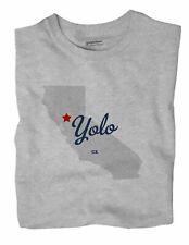 Yolo California CA Calif T-Shirt MAP